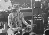 Johnny Depp MTV Awards 6/2/2012 with TTE