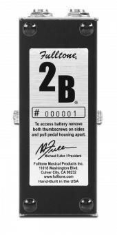 Fulltone 2B - Bottom Plate