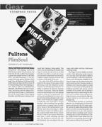 "The Fulltone PlimSoul gets Guitar Player Magazine ""Editor's Pick"" award!"
