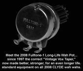 Fulltone Long-Life Wah Pot