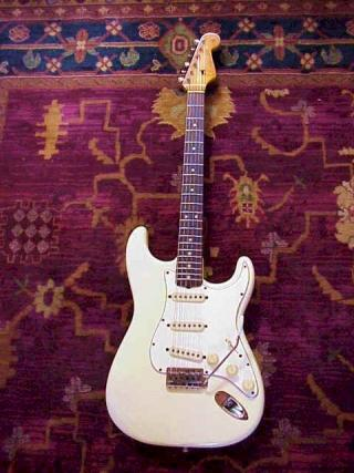 1965 Olympic White Stratocaster