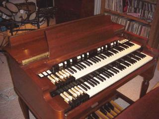 1956 Hammond B-3 Organ Front View