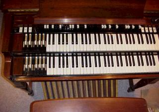 1956 Hammond B-3 Organ Overhead View