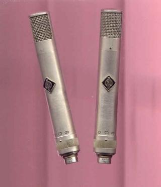 Pair of Neumann KM56s