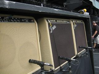 Ron Wood's tour amps.