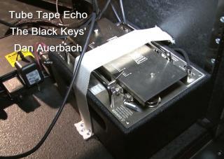 Dan Auerbach (The Black Keys) TTE Pedalboard