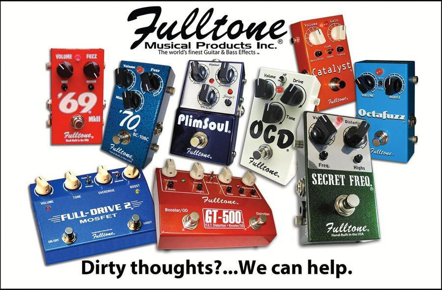 Fulltone Dirty Thoughts ad