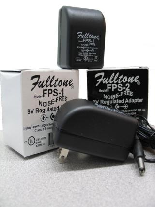 Fulltone FPS1 and FPS2 AC Adapters