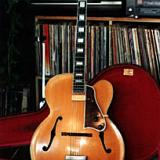1956 Blonde Gibson L-5C with OHSC.