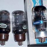 The finest tubes in the world: Genalex KT66 and KT88 output tubes.