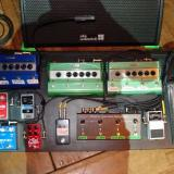 Chris Shiflett's (Foo Fighters) pedalboard, complete with FullDrive2-Mosfet