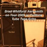 Brad Whitford's rig on the 2009 Aerosmith tour. Note the Fulltone Tube Tape Echo