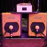 Buddy Miller's rig in 2010. Note the Fulltone TTE.