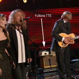 T Bone Burnett and his Fulltone TTE at The Grammys.