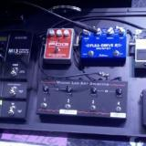 Pat Smear's (Foo Fighters) pedalboard, complete with FullDrive2