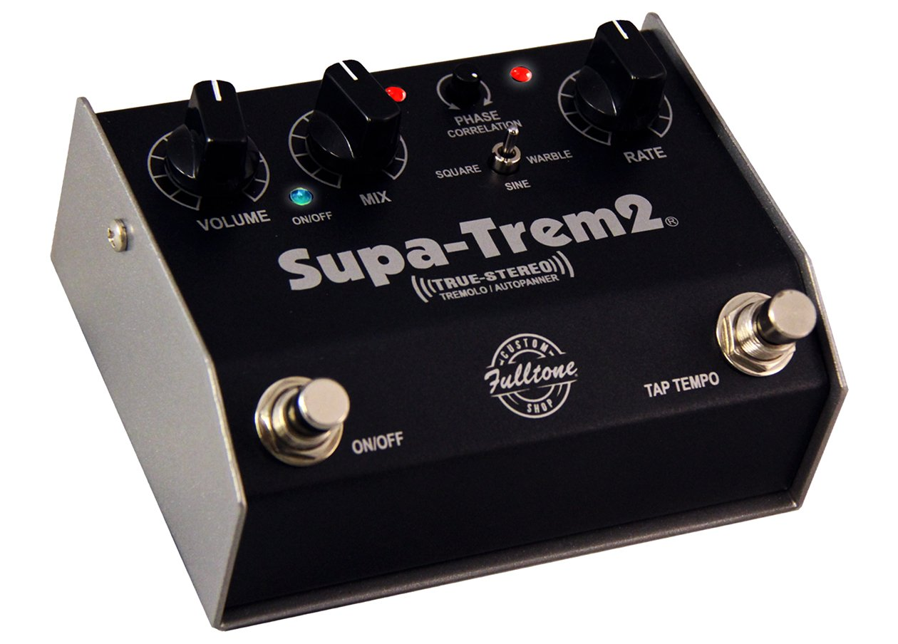 Fulltone Musical Products Inc Pedals Supa Trem2 Tremolo Effect Circuit Using Ua741 Additional Photos