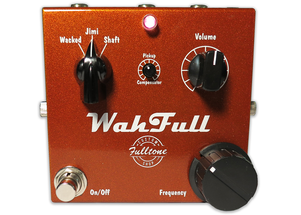 Fulltone Musical Products Inc Pedals Wahfull Re Wah Pedal Buffer Circuits Additional Photos