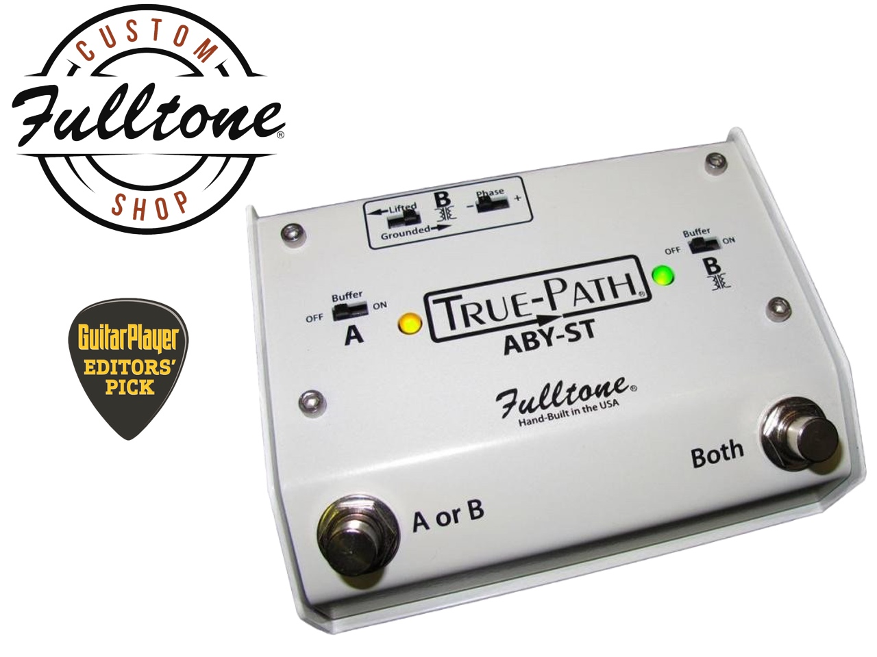 Fulltone Musical Products, Inc. | pedals | True-Path ABY-ST on