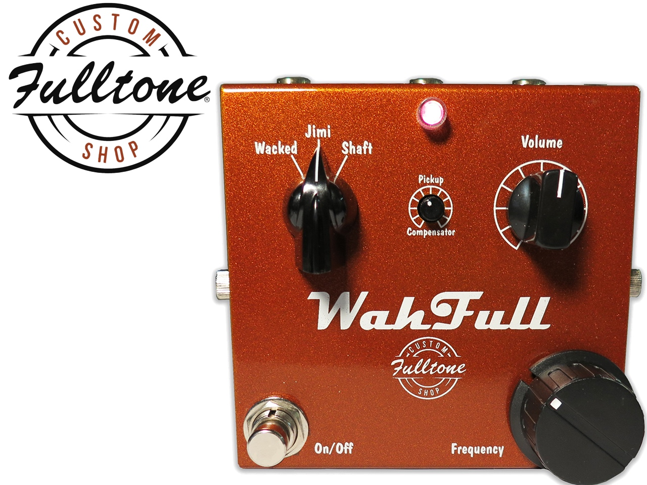 Fulltone Musical Products Inc Pedals Wahfull Re Wah Pedal Buffer Circuits